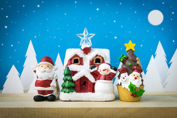 Children toys for christmas decoration.