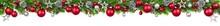 Weihnachten Girlande, Rot Und ...