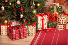 Christmas Gifts Under The Tree...