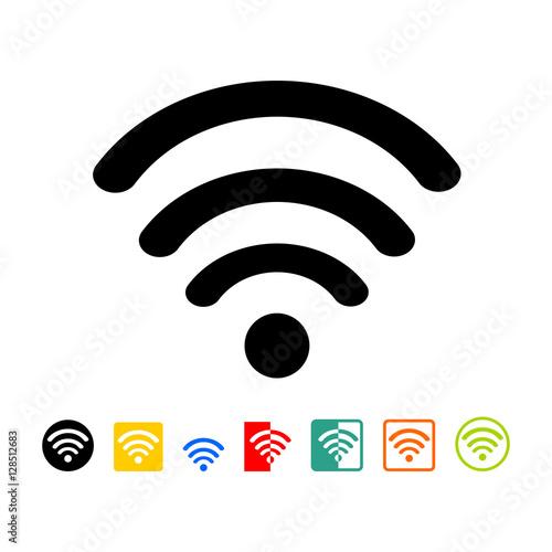 Wireless network symbol – kaufen Sie diese Vektorgrafik und finden ...