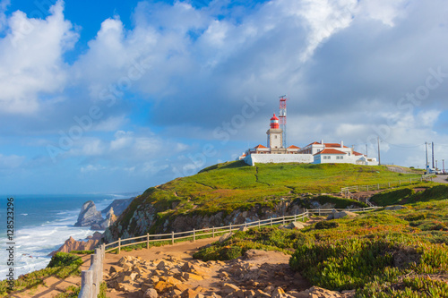 Foto auf AluDibond Lighthouse at cabo da Roca, Portugal.