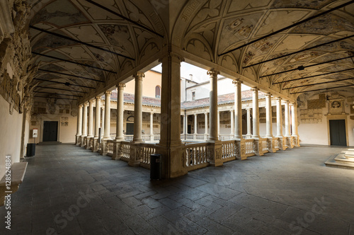 Photo Palazzo Bo, historical building home of the Padova University from 1539, in Padu