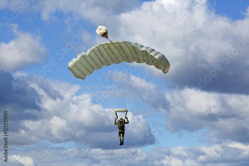 Canvas Print Paratrooper