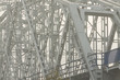 Poland, Krakow, Steel Railway Bridge