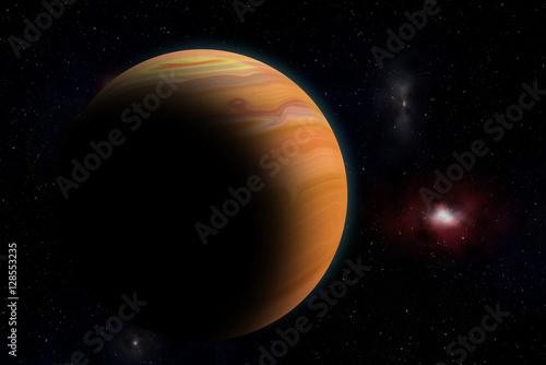 Zdjęcie XXL Jowisz z kosmosu