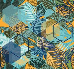 Fototapeta Wzory geometryczne Seamless pattern.