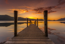 Ashness Jetty Sunset Keswick L...