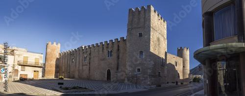 Alcamo medieval castle Canvas Print
