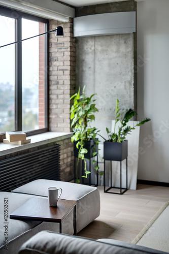 Fényképezés  Interior in loft style