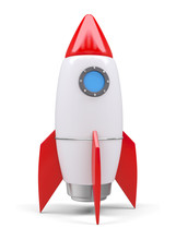 Space Rocket, Isolated