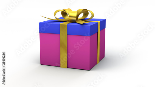 Bedanken Oder Danke Sagen Mit Schön Verpacktem Geschenk