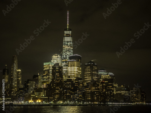 Lower Manhattan in New York City Plakat