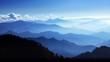Leinwandbild Motiv Meditation in Mountain