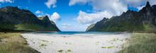 Beach Of Ersfjord, Senja Island, Norway