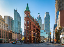 Gooderham Or Flatiron Building In Downtown Toronto - Toronto, Ontario, Canada