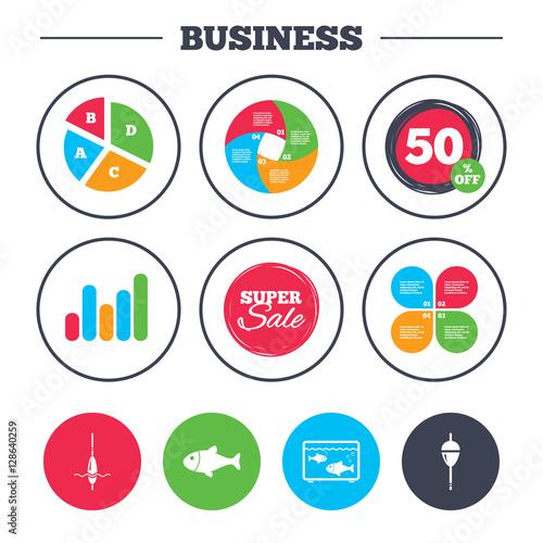 Fotografie, Obraz  Business pie chart