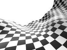 Checkered Texture Background Illustration