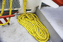 Coil Of Yellow Line