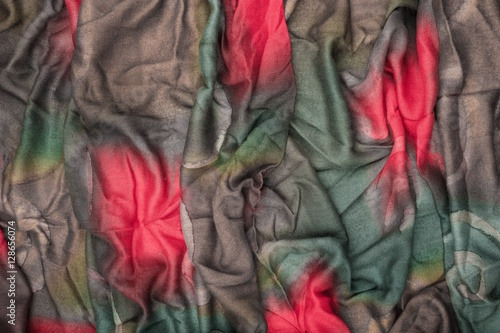 Photo sur Aluminium Aquarelle avec des feuilles tropicales Abstract background made of cloth.