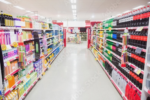 Fotografie, Obraz  Facing view of an aisle