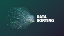 Data Sorting Abstract Vector I...