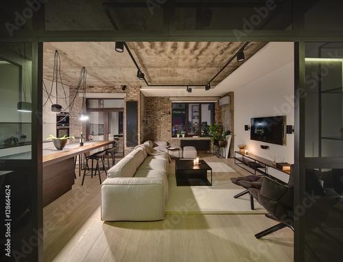 Fényképezés  Hall in loft style