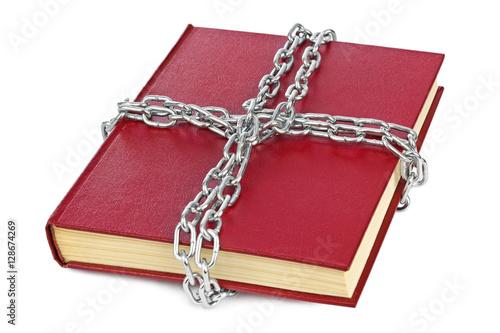 Valokuva  Book and chain