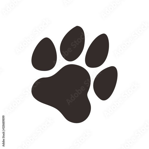 dog paw logo vector buy this stock vector and explore similar rh stock adobe com Dog Paw Heart Dog Paw Print Pattern