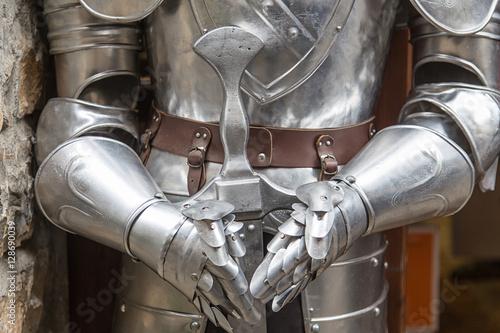 Photo  medieval armor