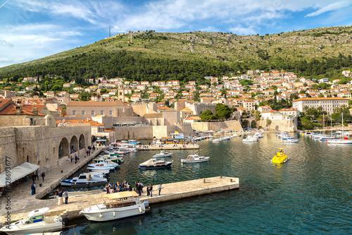 Fotobehang Liguria Old city Dubrovnik, Croatia