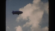 1960: A Large Goodyear Blimp F...