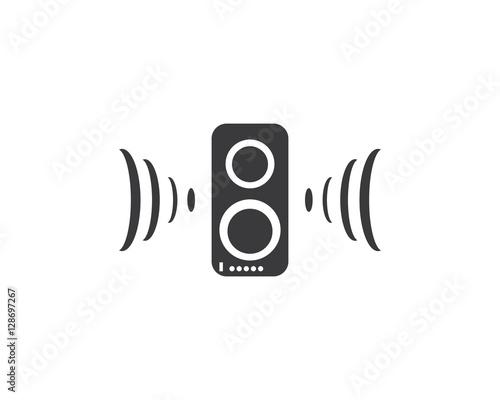 Vászonkép Hear Logo