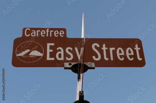 Fotografie, Obraz  Easy Street Sign