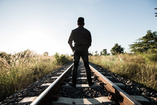 Man On Railway