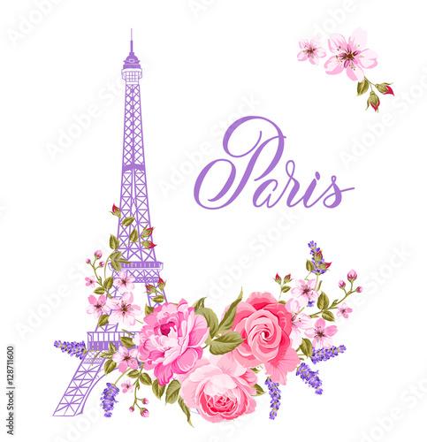 The Marriage Card Wedding Invitation Template Eiffel Tower