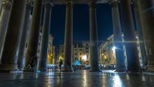 Roman Pantheon Interior Time-l...