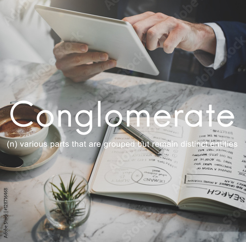 Fotografie, Obraz  Conglomerate Alliance Business Collaborate Team Concept