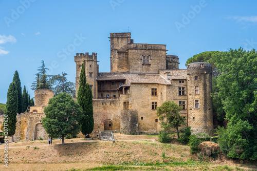 Foto op Plexiglas Kasteel Castle of Lourmarin, Provence, France