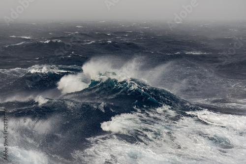 Poster Mer / Ocean ocean wave in the indian ocean during storm