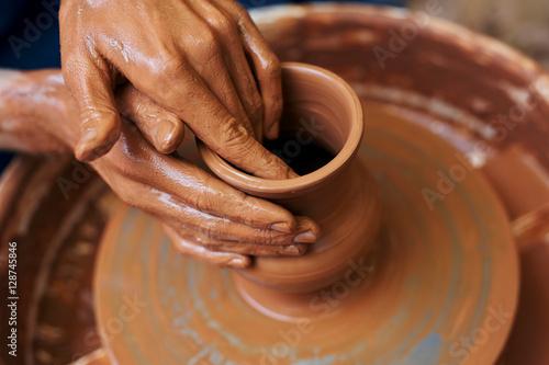 Foto  Art of pottery