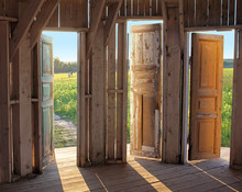 Three Doors Into The Space Of Nature