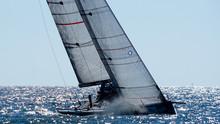 Race Sailing Boat Racing Yacht...