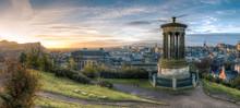 Calton Hill At Sunrise