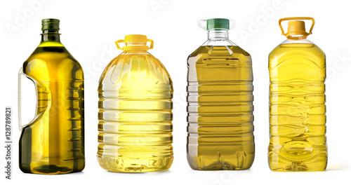 Fototapeta bottle oil plastic obraz