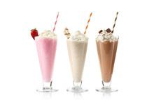 Delicious Milkshakes Isolated ...