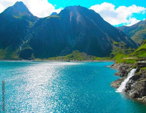 Staande foto Reflectie Landscape scenery