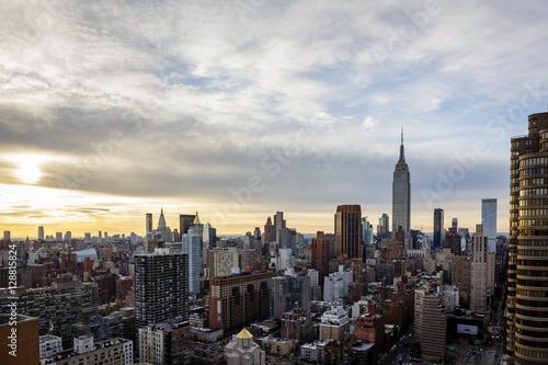Keuken foto achterwand Amerikaanse Plekken Empire State Building Cityscape