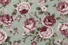 Colorful Cotton Fabric In Vint...