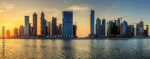 Business bay of Dubai, UAE