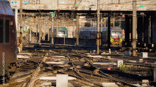 Train station in Milan - Italy Wallpaper Mural